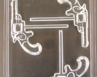 Gun Lollipop mold