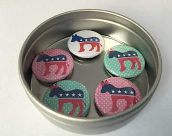 Democratic Donkey Magnet Collection