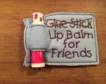 Felt Chapstick Gift Holders (Including Balm)