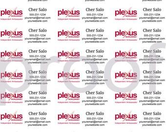 Personalized Plexus Labels, Plexus Consultant