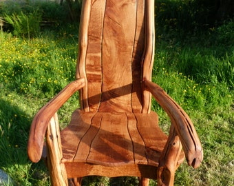 Bespoke, Hand Crafted Oak Storytelling Chair for ages 16+ (adult size)