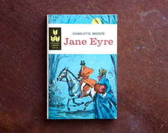 JANE EYRE by Charlotte Bronte. 1965 Scholastic Library edition