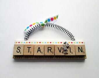 Starvin Artist Art Painter Scrabble Tile Ornament