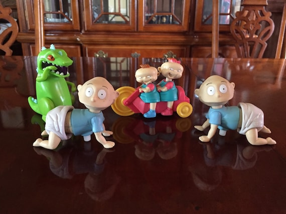 Vintage Burger King rugrats Set of 5 Cake toppers by WhatIHave