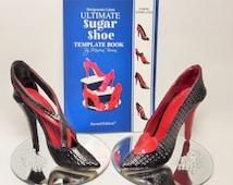 Designerart Cakes High Heel Shoe Template Book - 8 Shoe Designs
