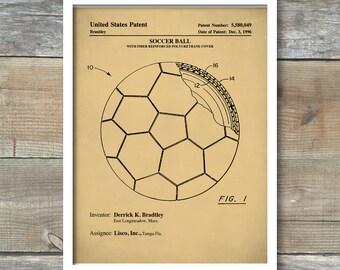 Soccer Ball Patent, Soccer Ball Poster, Soccer Ball Print, Soccer Ball Art, Soccer Ball Decor, Soccer Ball Wall Art, Soccer Blueprint, P196