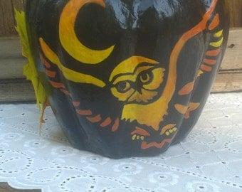 Owl In Flight pumpkin