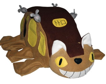 Burrow/Cube Cat Bus (Totoro film) for ferrets, rats, and other small animals