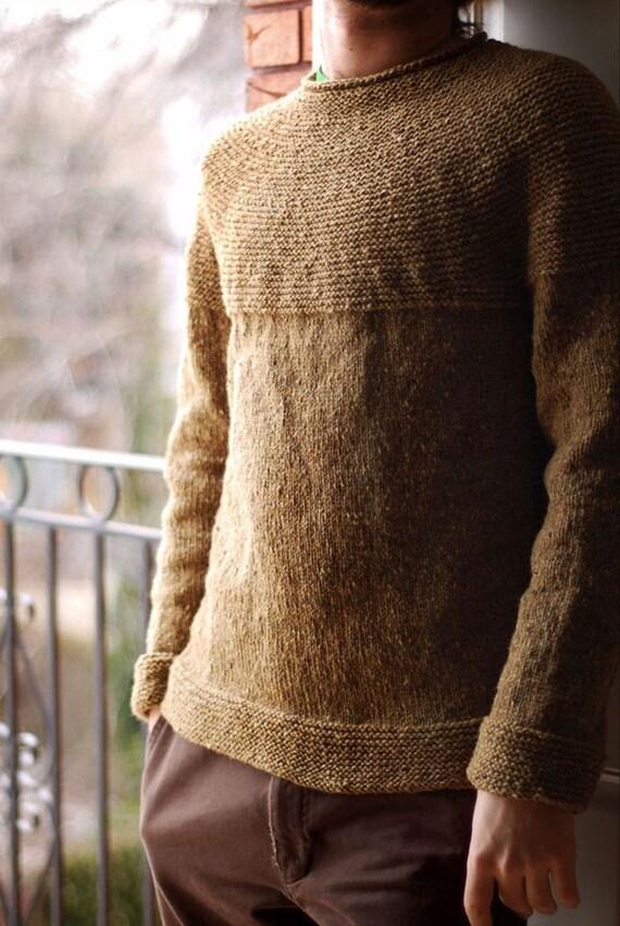 Knitting Hands Brooklyn : Made to order men s crewneck sweater v neck turtleneck