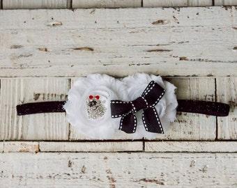 White Ghost Headband for Halloween