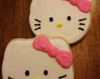 Regular Hello Kitty cookies