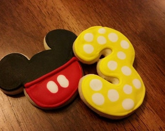 Mickey Mouse Clubhouse cookies - 24 count