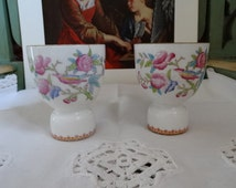"A Pair of Large Royal Doulton ""Ito"" Egg Cups for Tiffany & Company, New York.  Made in England."