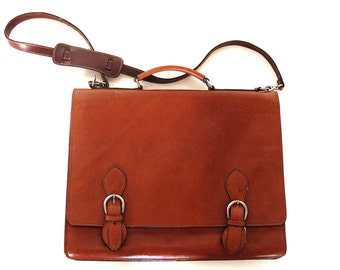 Leather Large Bag.
