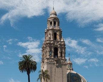 Balboa Clock Tower, San Diego