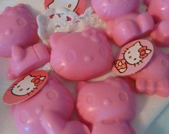 24 Hello Kitty favors.  These favors will be the hit to any little girl's shower.
