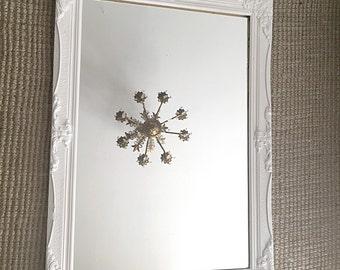 Large White Wall Mirror white mirror | etsy