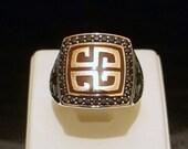 925 Sterling Silver Perfect Design Enamel Stone