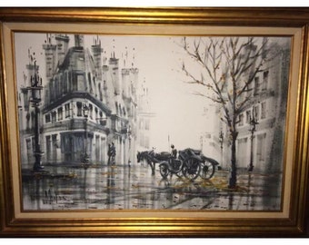 Museum Quality Monier Oil Painting