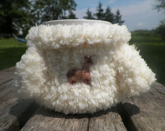 Mabel Sweater Mug Cosy -Llama