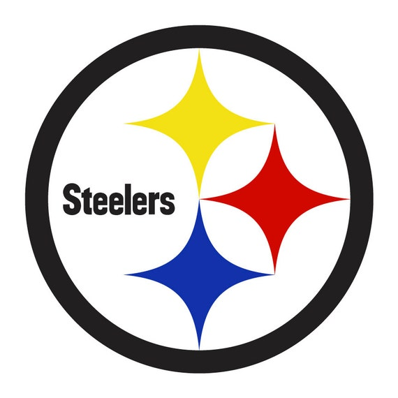 Steelers >> Pittsburg Steelers Logo Decal Sticker 4 by Vaultvinylgraphics