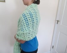 Hand Crochet Prayer Shawl