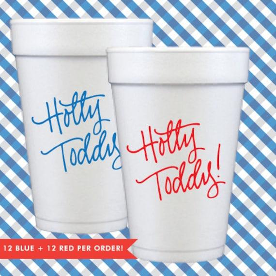 Hotty Toddy Foam Cups