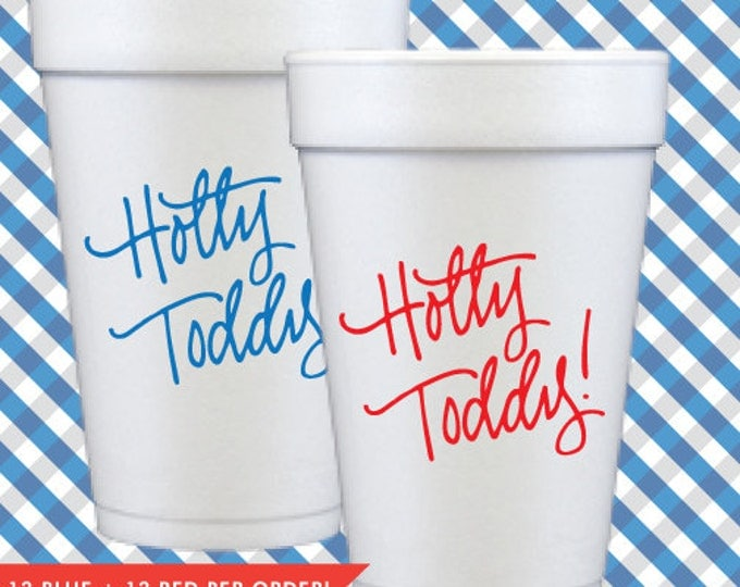 Hotty Toddy Foam Cups (Qty 24)