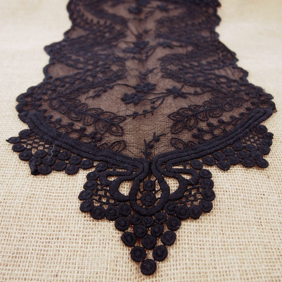 Floral lace table runner dining 12 inch 6 feet from for 12 foot table runner