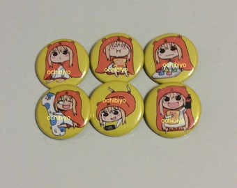 Himouto! Umaru-Chan, Indoor Mode, Character, Single, 1.25 Inch Button