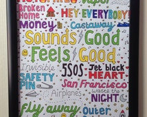 5SOS COLLAGE // sounds good, feels good, looks good