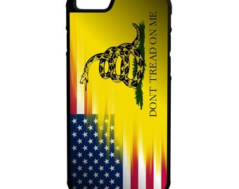 American Gadsden Flag iPhone, Galaxy, Note, LG G4 Hybrid Rubber Protective Case
