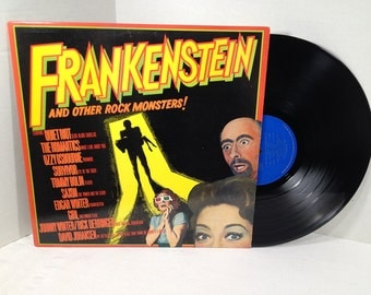 Frankenstein And Other Rock Monsters vinyl record Quiet Riot, Ozzy, Tommy Bolin, Saxon EX
