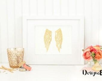 Foil Print - Wings