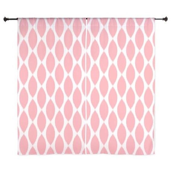 Chiffon curtains pink curtains sheer curtains dorm room curtains