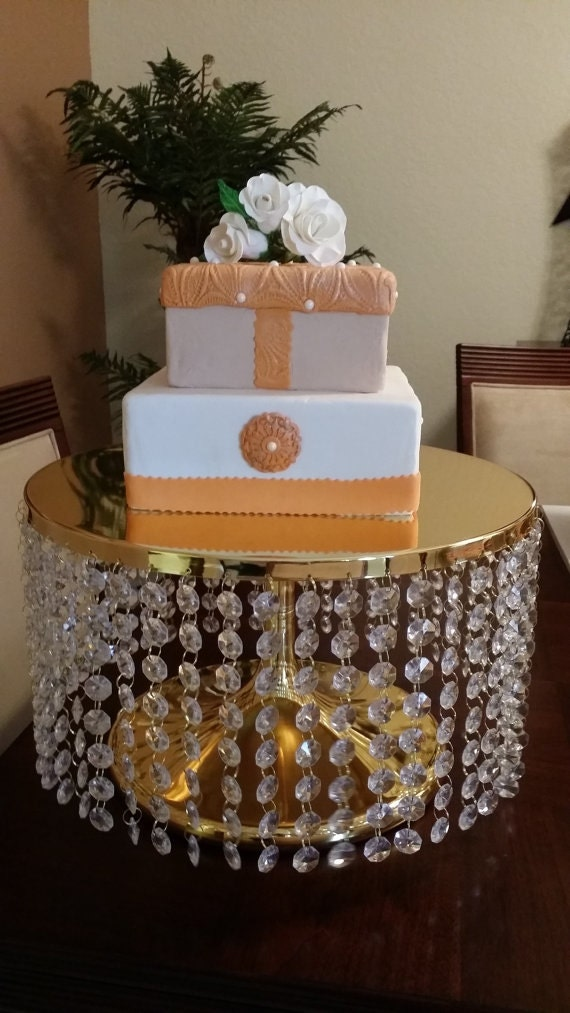 gold bling for wedding cakes items similar to wedding cake stand bling bling 14746
