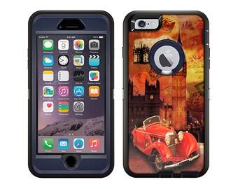 Apple iPhone 6 Otterbox Defender London Retro Bus (B-421)