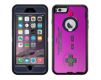 Apple iPhone 6 Otterbox Defender Old School Retro TREK™ Super Controller Purple (B-532pr)