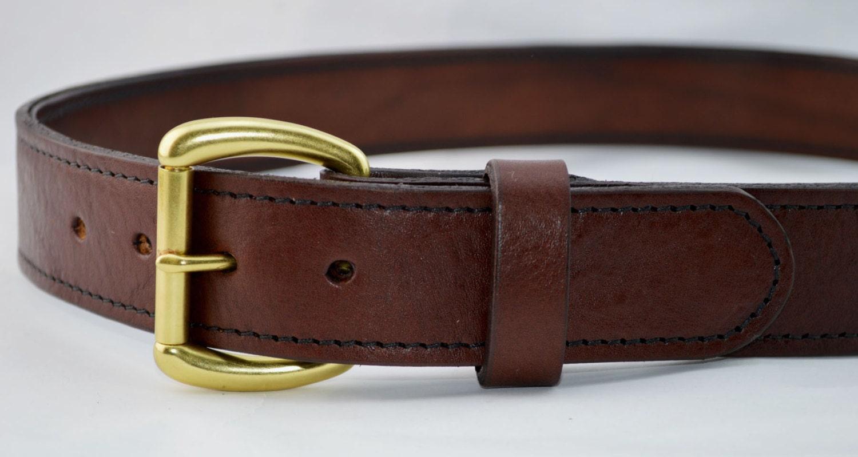 s heavy duty leather work belt 1 1 2 inch wide