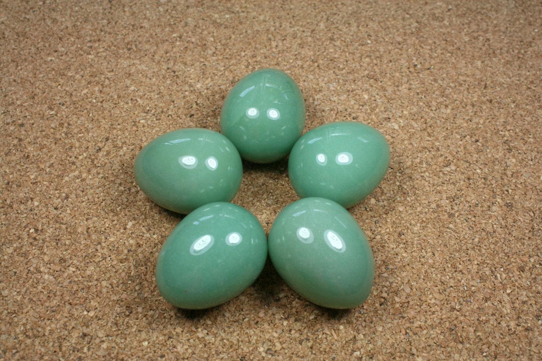 gemstone eggs aventurine egg light green
