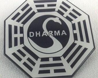 LOST Dharma - Sci-Fi TV Series Trading Pin