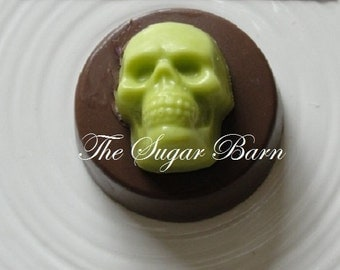 SKULL CHOCOLATE Oreo® Cookies*10 Count*Halloween Party Favors*Zombie Favor*Mummy*Trick or Treat