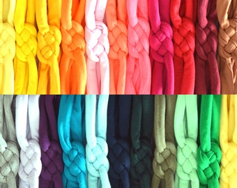 Set of ALL 24 Sailor Knots! Discounted Price - Cotton Knit Sailor Knot Headbands - Newborn Baby, Infant or Toddler - Great Baby Shower Gift!