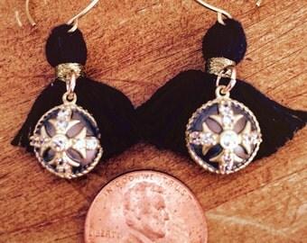 Tasseled Treasure Earrings