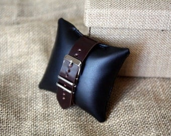 Horween #8 Shell Cordovan Watch Strap in 20 mm