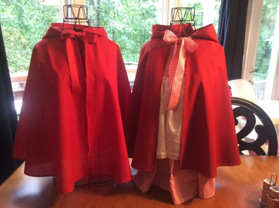 Little Red Riding Hood CAPE only