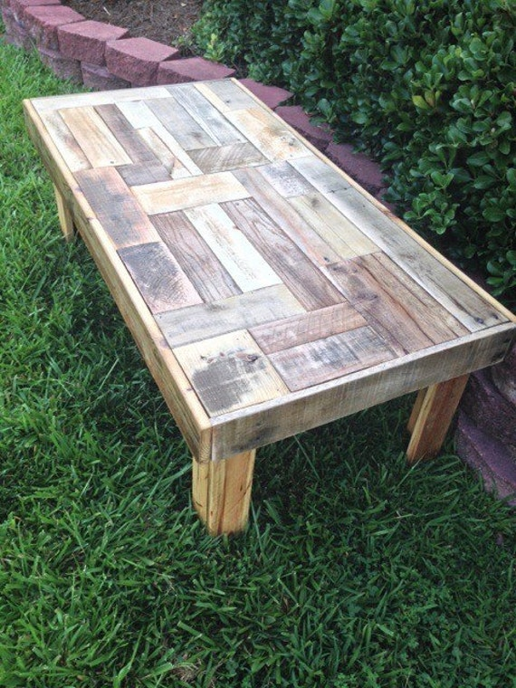 Coffee Table Reclaimed Pallet Wood Coffee Table Handmade Furniture Reclaimed Wood Furniture