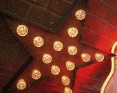 Illuminated Fairground Star