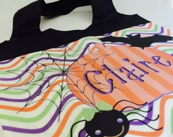 Personalized Halloween Trick or Treat Bag