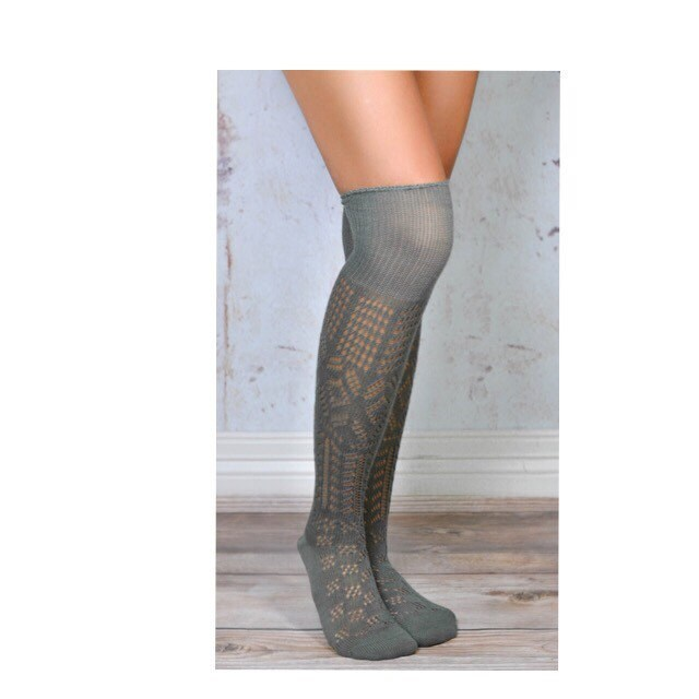 thigh high patterned boot socks so adorable by